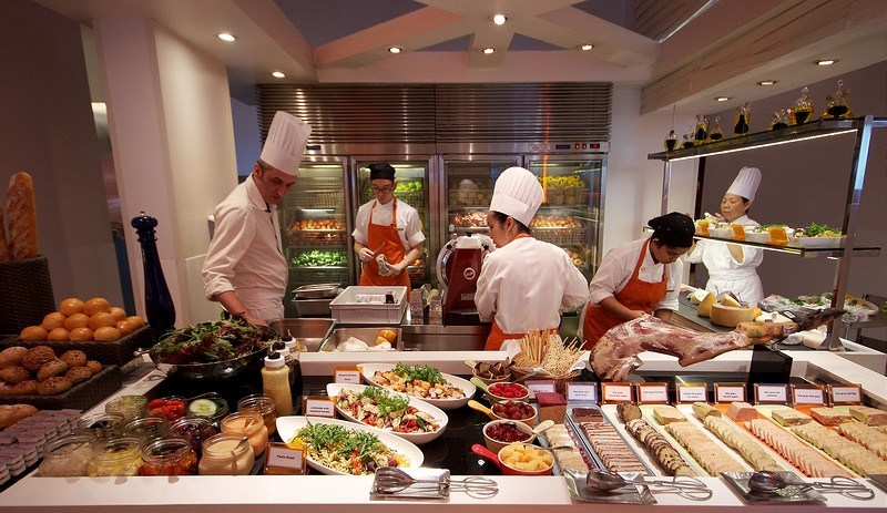 The Line Restaurant Singapore Buffets Best Buffet Restaurants In