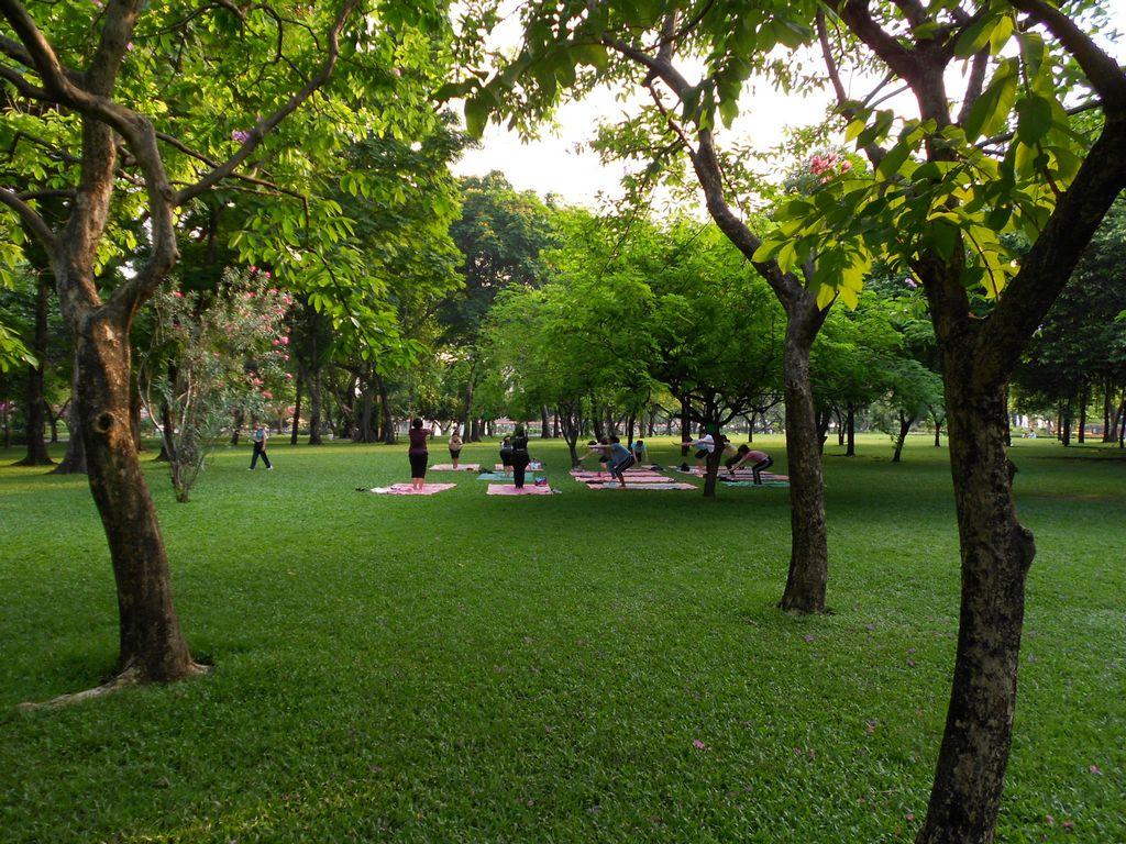 Romaneenart Park-best bustling place in Chinatown - Bangkok