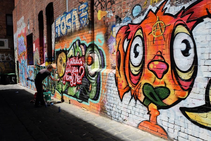 wall-painting-misshapen alleys in Melbourne (9)