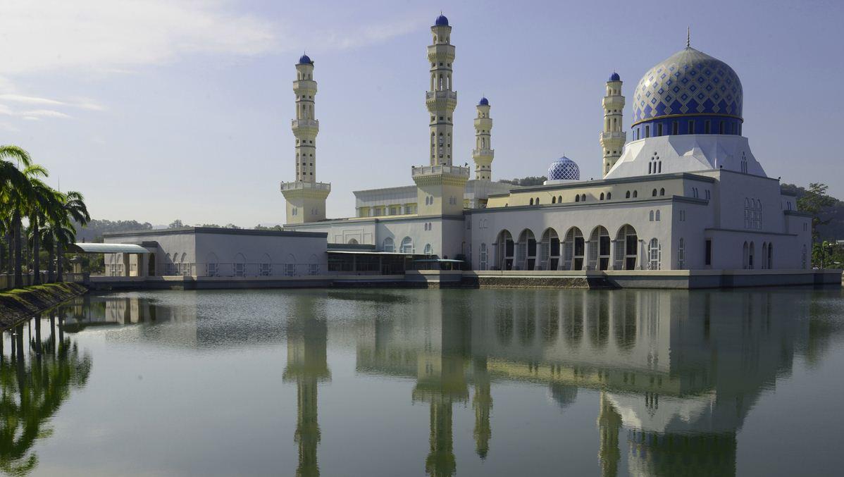 Floating mosque kota bharu city