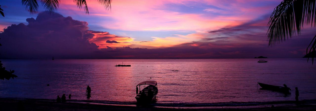 Sunset in Perhentian islands