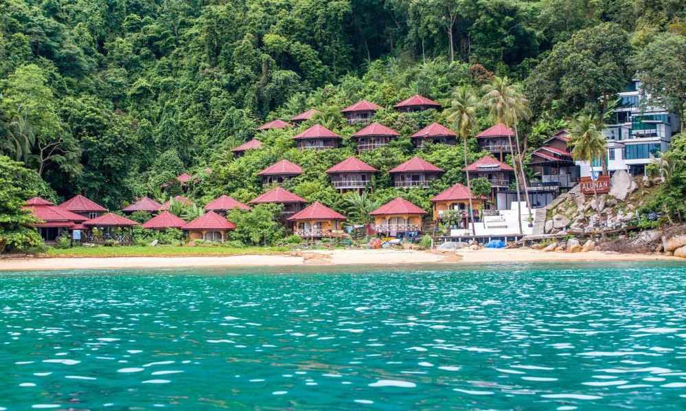 A resort in Perhentian island