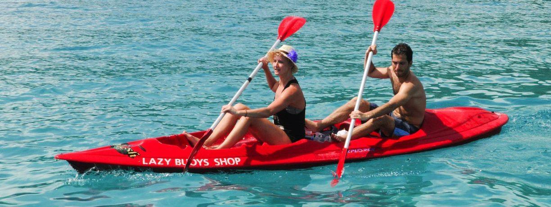 Kayaking in Perhentian islands