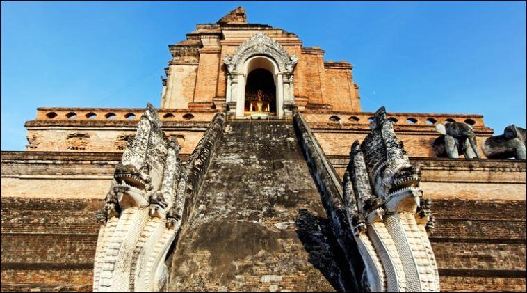 Wat Chedi Luang Thai Lan 3 days itinerary Chiang Mai