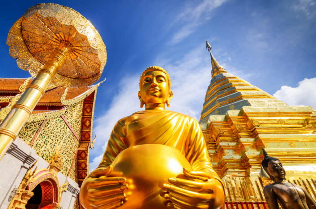 Wat Phrathat Doi Suthep chiang mai itinerary 3 days temples