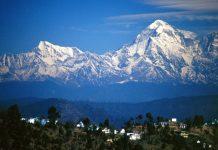 kasar devi village uttarakhand and himalaya