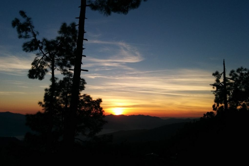 sunrise at almora