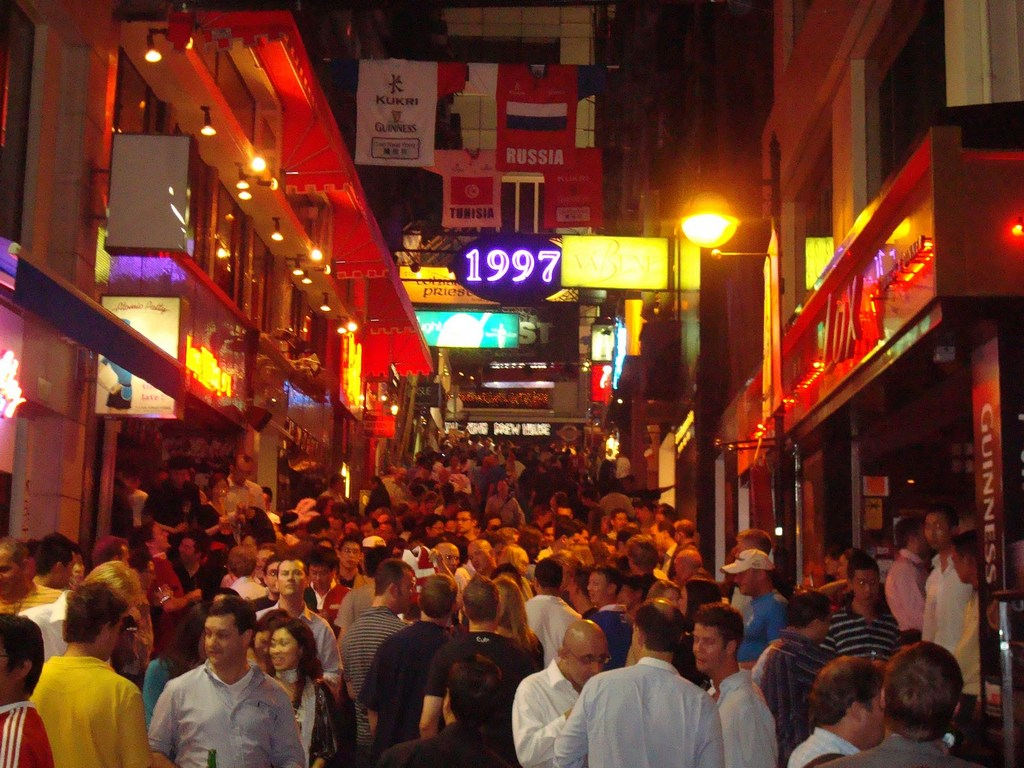Lan Kwai Fong-hong-kong-explore the fullest hong kong only 3 days