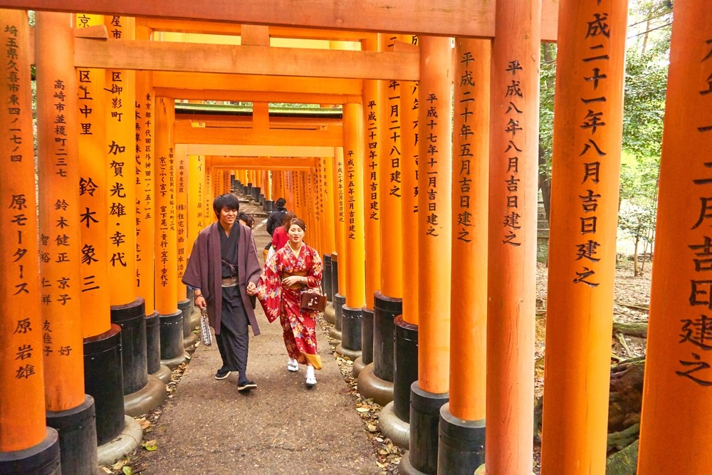 Fushimi Inari Shrine - One of most famous shrine in Japan (13)