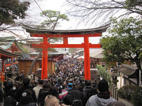 Fushimi Inari Shrine - One of most famous shrine in Japan (5)