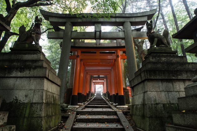 Fushimi Inari Shrine - One of the most famous shrine in Japan (3)