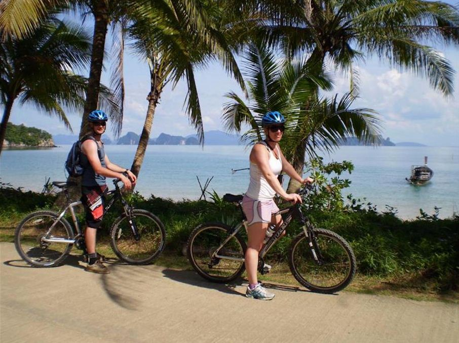 cycling around koh yao noi beaches island thailand guide pictures 2