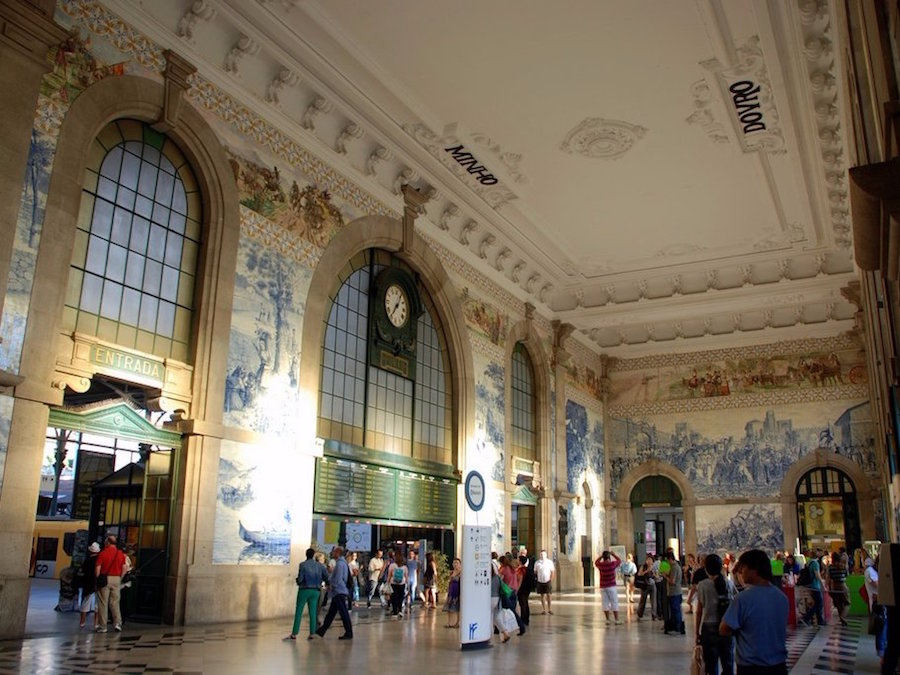 8 interesting things facts about Portugal sao bento world most beautiful station