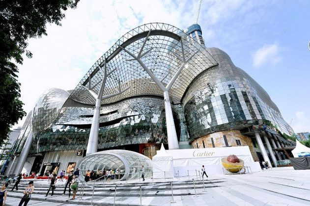 singapore shopphing mall ion orchard