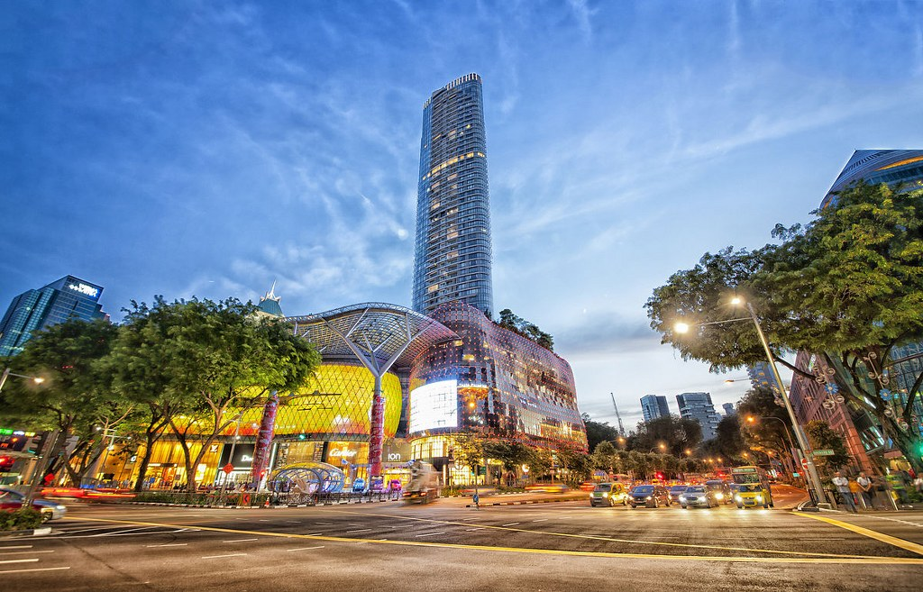 ion orchard shopphing mall singapore