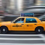Why are taxi cabs of New York City yellow?