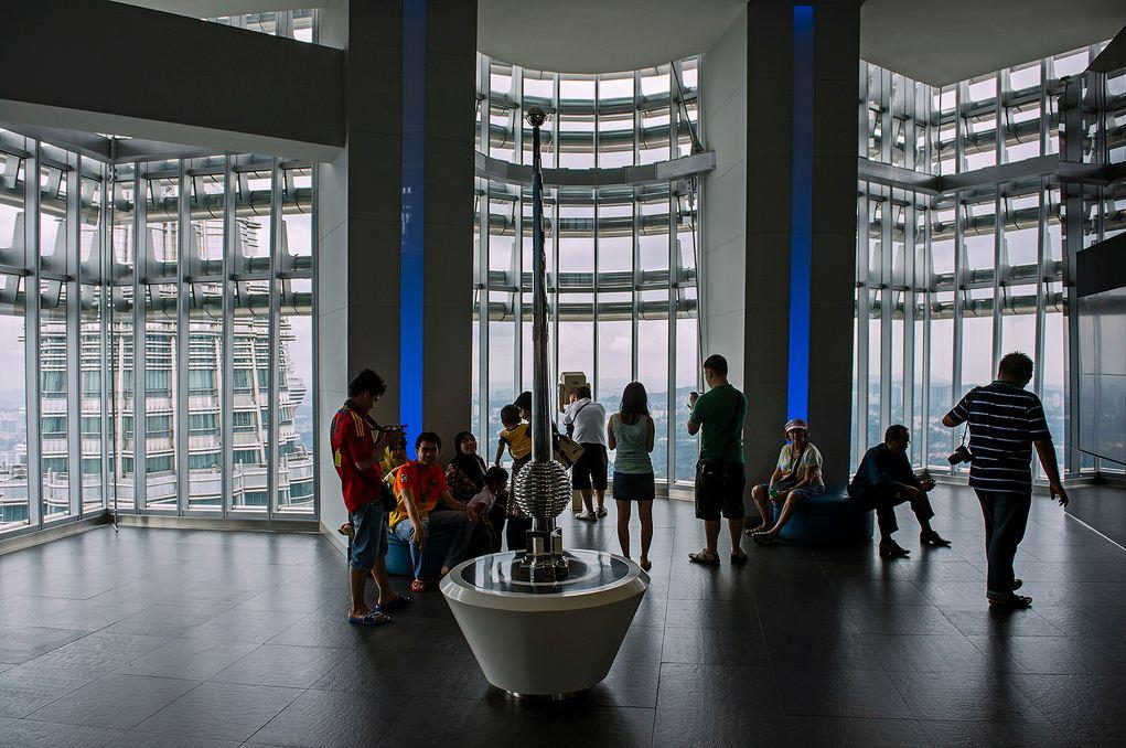 Petronas Twin Tower kuala lumpur observatory