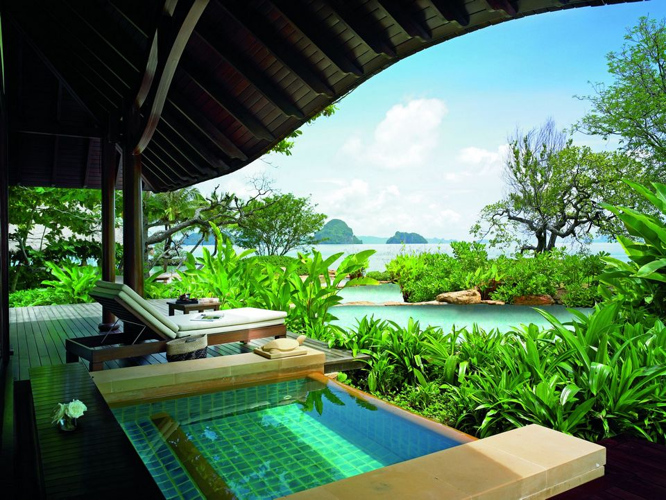 beach villa krabi thailand