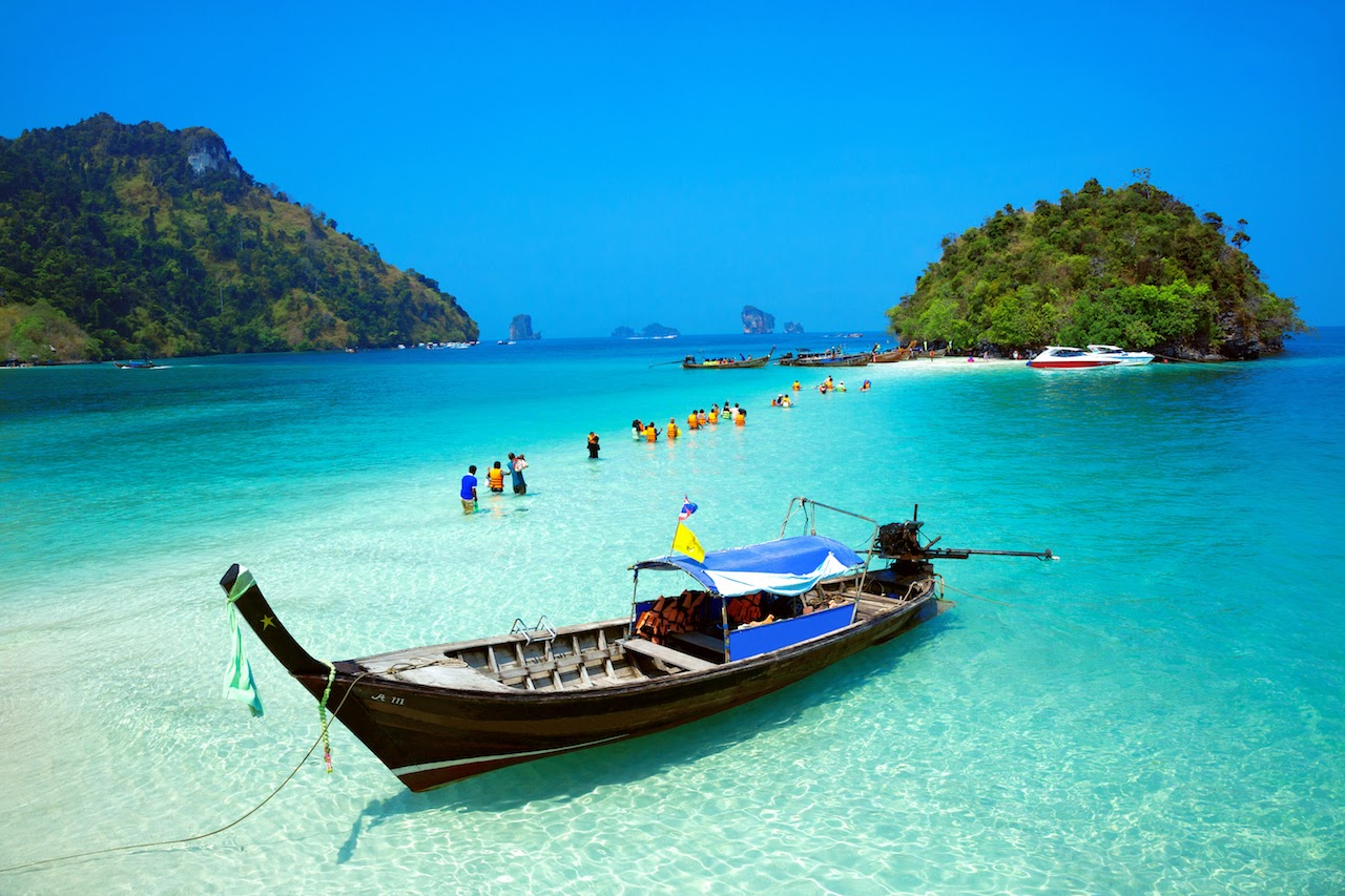 Traditional Longtail Boat from Krabi