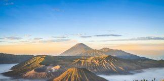 mount bromo java indonesia