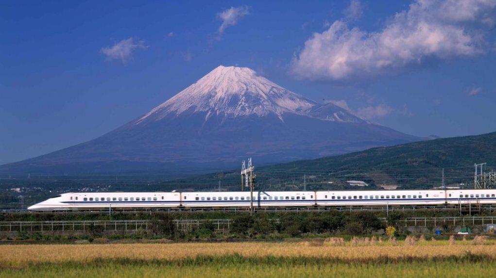 Fuji bullet train