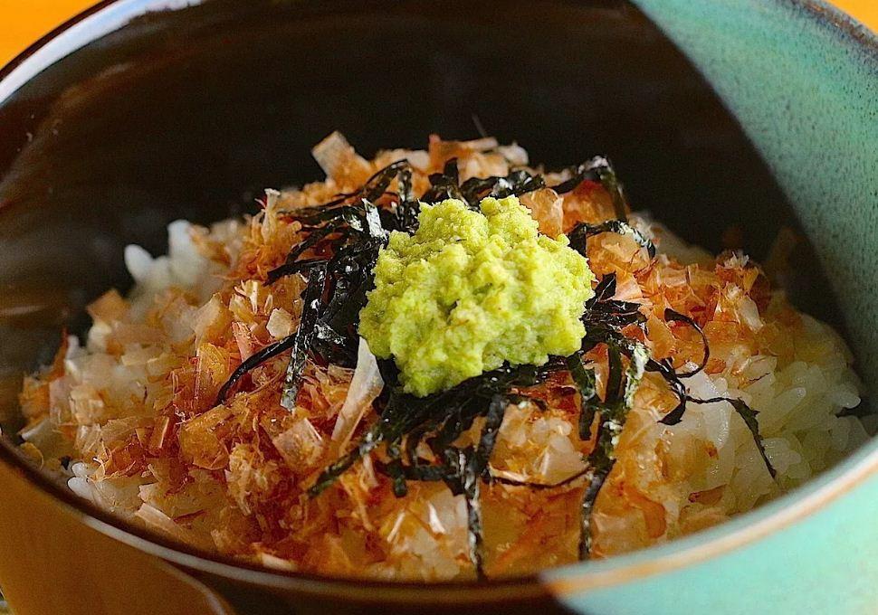 Wasabidon dish
