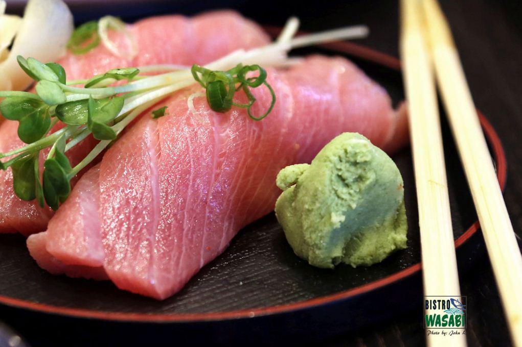wasabi sashimi