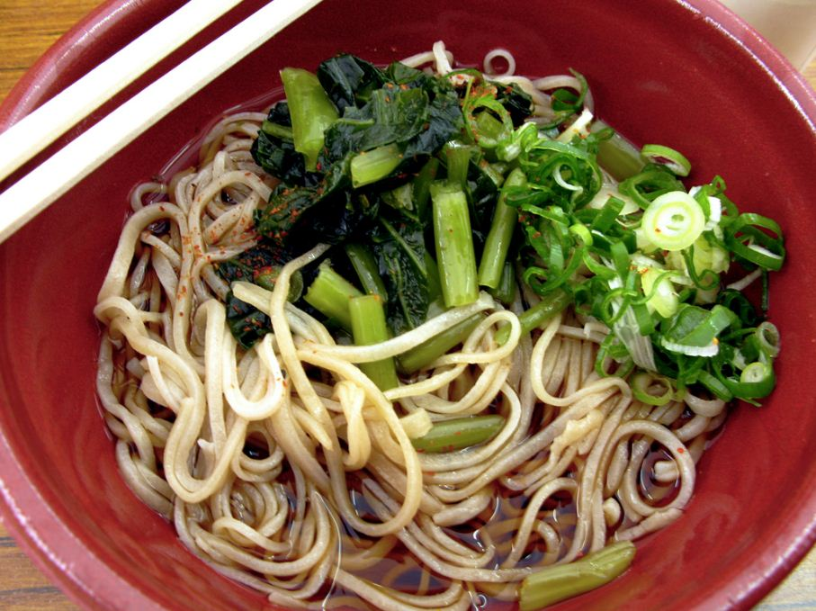 wasabi soba noodles