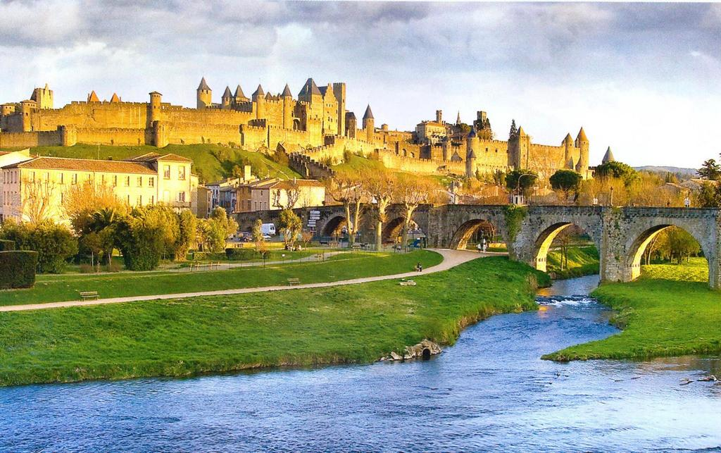 Carcassone most beautiful villages of France
