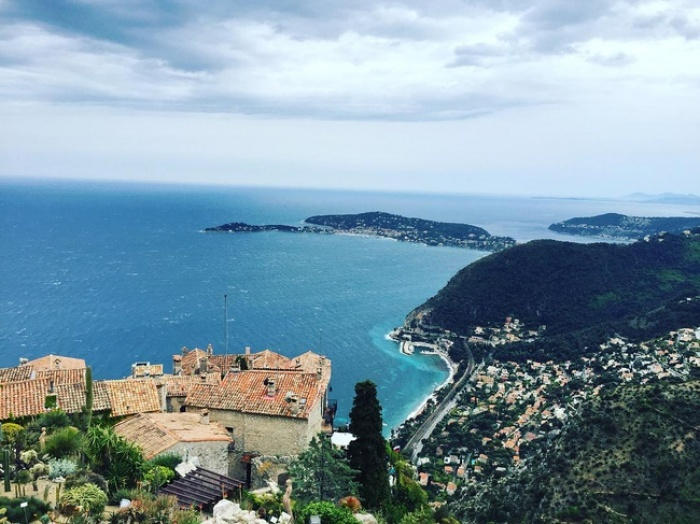 Eze most beautiful villages of France