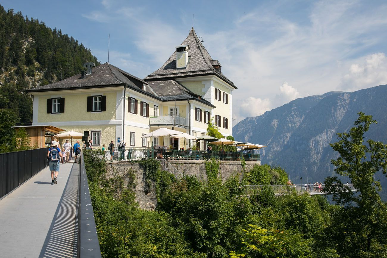 To get here, take the funicular or hike (roughly 1 hour of walking). A ride on the funicular costs €18.