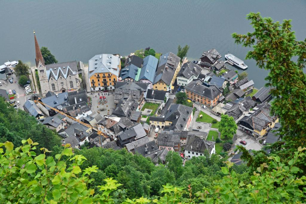hallstatt view from above