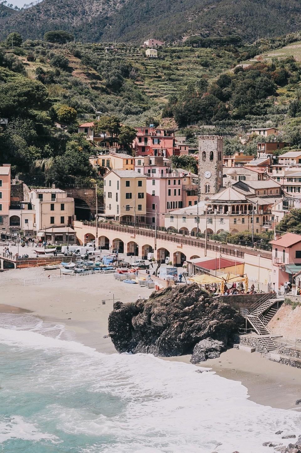 monterosso-al-mare-beach Cinque Terre travel guide One day in Cinque Terre