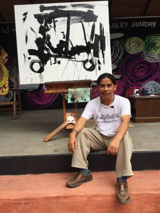 Tawee Kasa Ngam hua hin art village baan sillapin artists village hua hin artist village 2