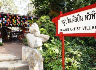 check in hua hin art village baan sillapin artists village hua hin artist village 63