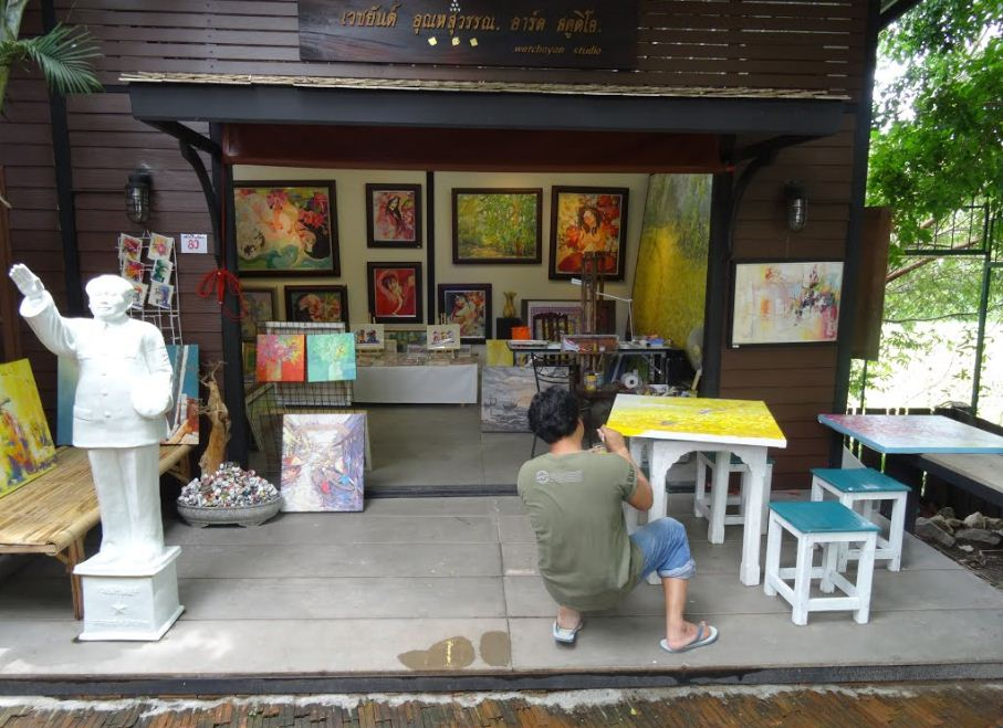 check in hua hin art village baan sillapin artists village hua hin artist village 64