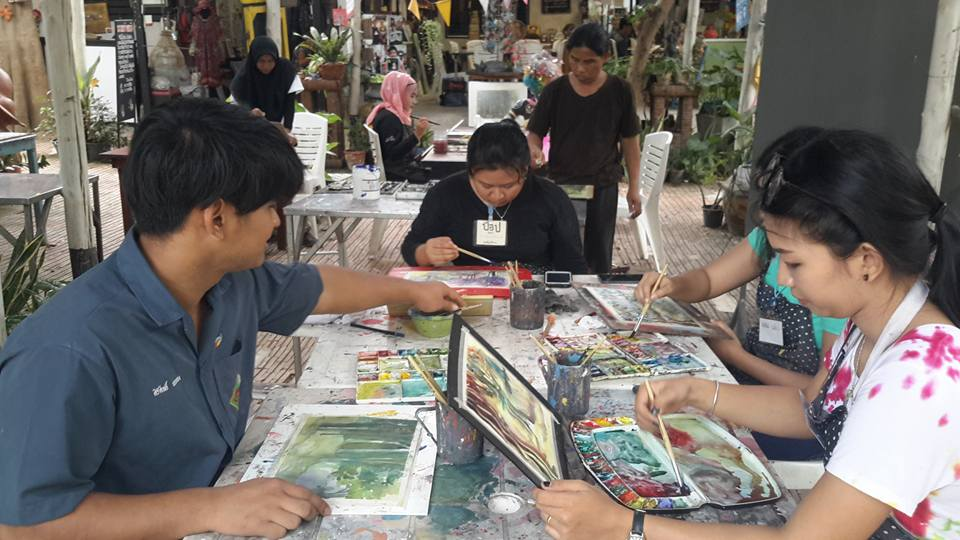 hua hin art village baan sillapin artists village hua hin artist village g