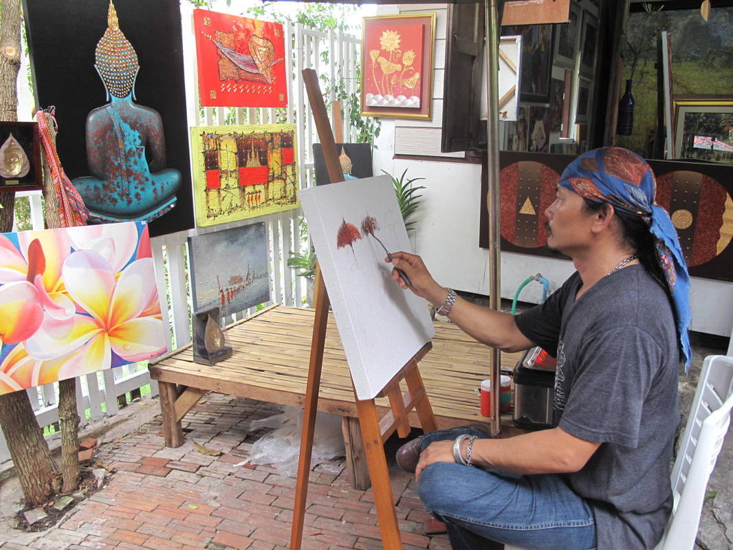 hua hin artist village