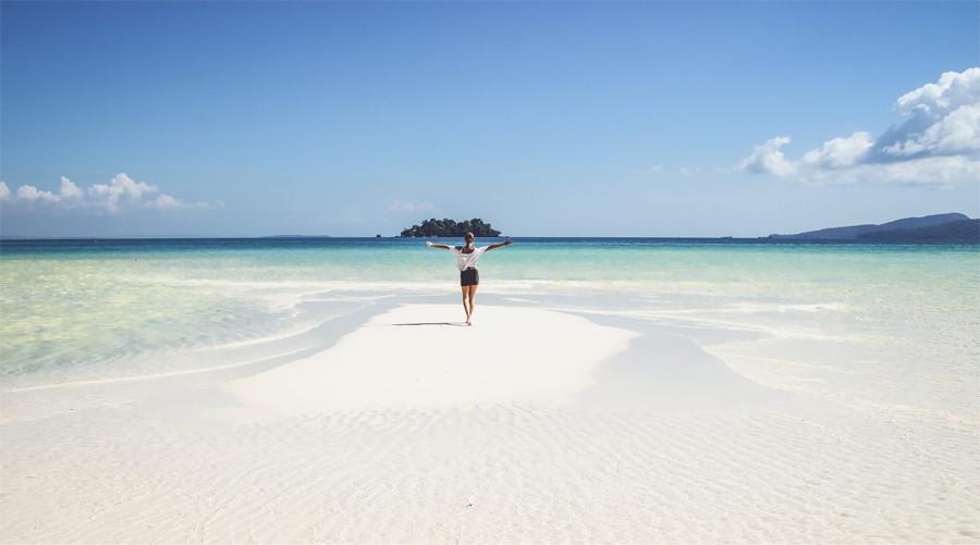 4k beach koh rong island cambodia 2