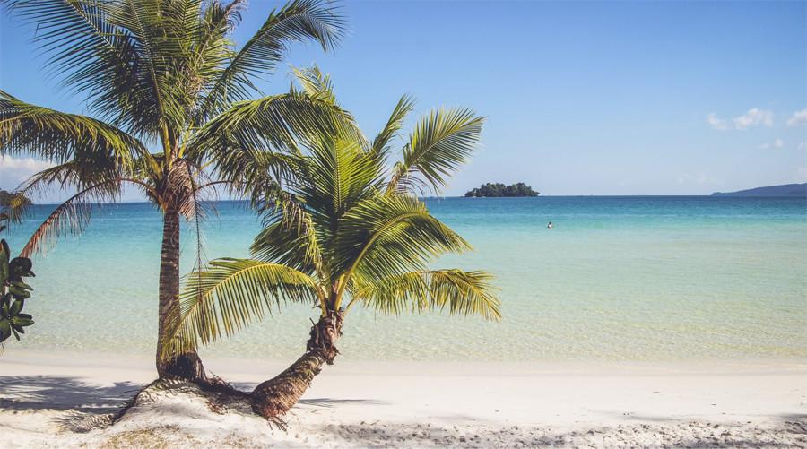 4k beach koh rong island cambodia 6