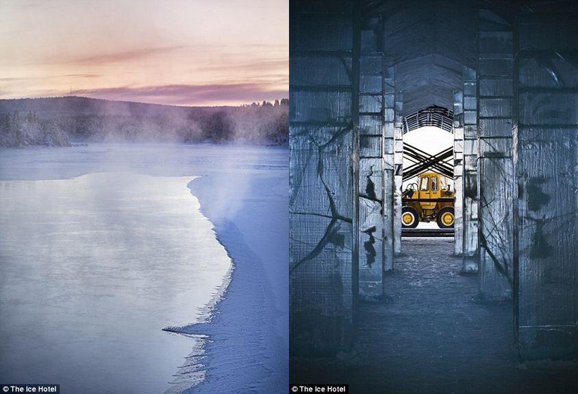 Torne River icehotel sweden ice hotel 365 sweden icehotel 365 icehotel365 ice hotel sweden facts