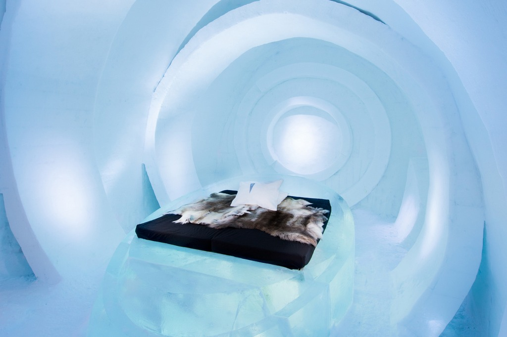 Winteco Ice Hotel Room Air Coolers : Explore icehotel — the most stunning ice hotel in