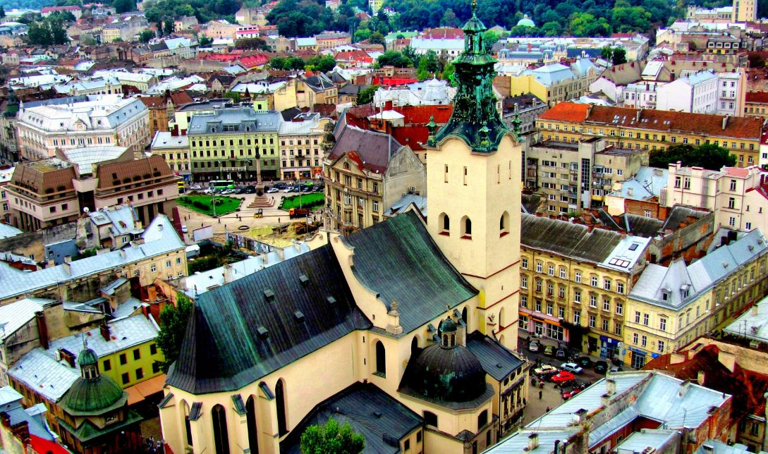Lviv City, best places to visit in Ukraine