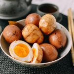 Tasting Chinese Tea Eggs — The delicious traditional dish, subtle & distinct flavor of Chinese cuisine