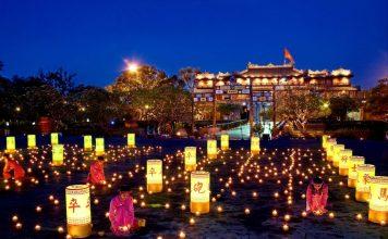 hue citadel hue at night