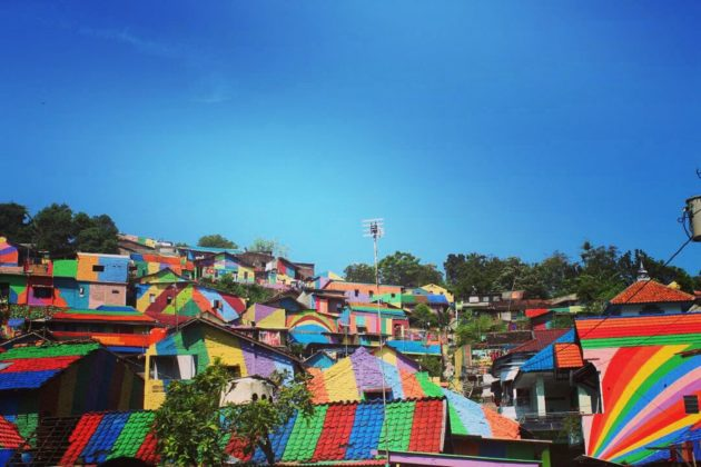 Kampung Pelangi -Rainbow Village in Indonesia (2)