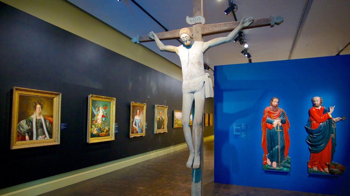 Inside Montreal Museum of Fine Arts
