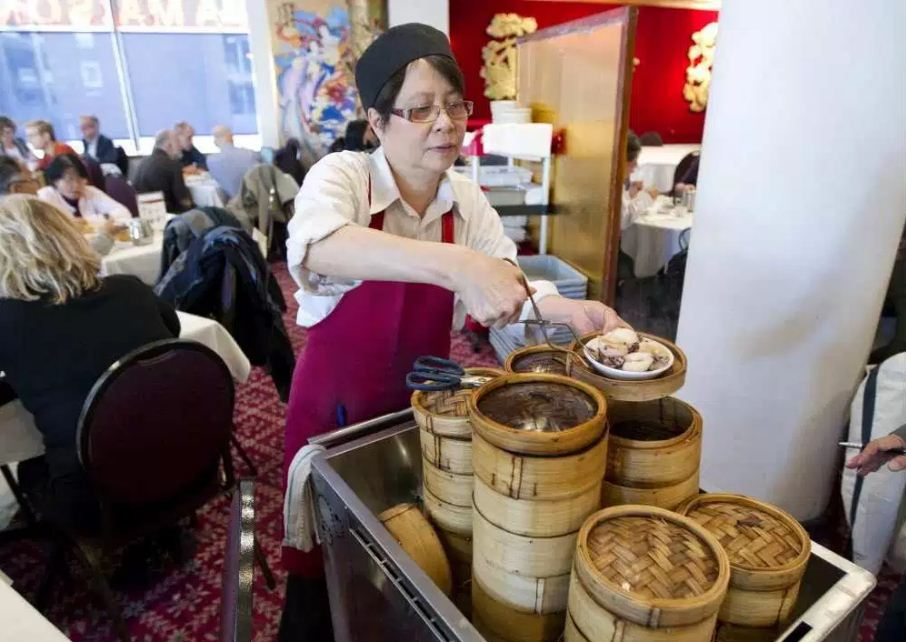 Dimsum in Montreal Chinatown. Image of Montreal travel blog