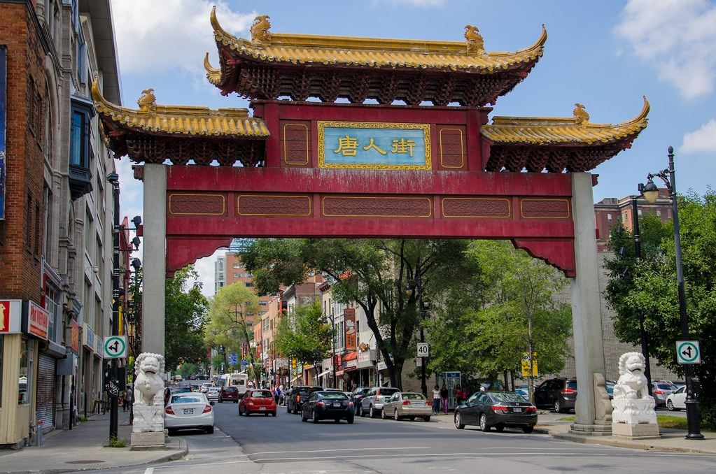 montreal chinatown. Image of Montreal travel blog