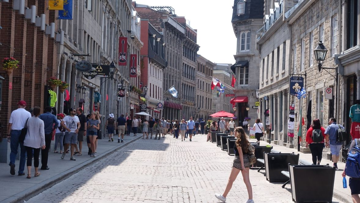 old town of montreal